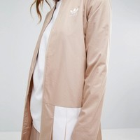 adidas Pleated Twill Jacket at asos.com