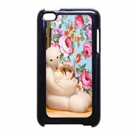 Big Hero 6 Baymax Floral Disney iPod Touch 4th Generation Case