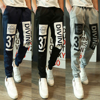 Designer Divine 37 Men's Fashion Cropped Joggers