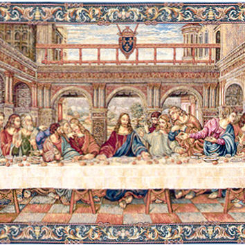 The Last Supper IV Tapestry Wall Art Hanging