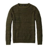 O-Neck Pullover Sweater