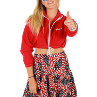 Budweiser Crop Windbreaker