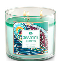 Jasmine Waters 3-Wick Candle | Bath And Body Works