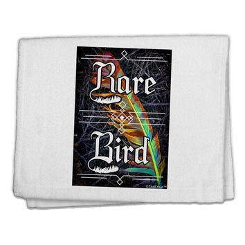 "Rare Bird - Colorful Feather 11""x18"" Dish Fingertip Towel"