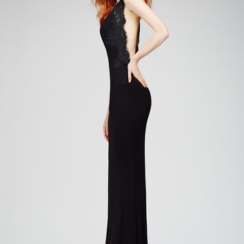 Black Mermaid Dress 26800 - Evening Dresses