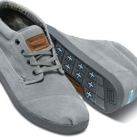GREY SUEDE MEN'S BOTAS