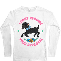 Black Sheep Doesn't Require Your Approval -- Women's Long-Sleeve