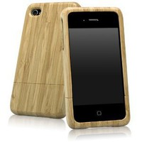 BoxWave True Bamboo iPhone 4 Case (Natural)