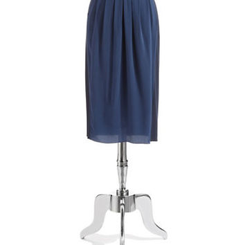 Elie Tahari Eloise Silk Pleated Skirt