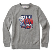 Vans x Marvel Captain Marvel Crew | Shop Womens Sweatshirts At Vans
