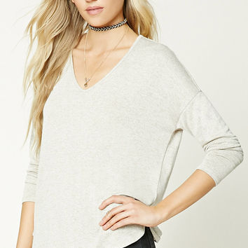 Vented High-Low Sweater