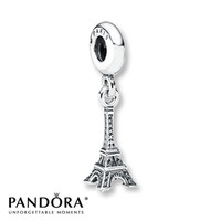 Pandora Dangle Charm Eiffel Tower Sterling Silver