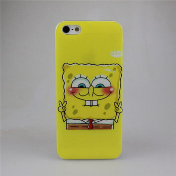 Best Friend SpongeBob Patrick Protective Phone Case Cover For Apple iPhone 4 4S 5 5S SE 5C 6 6S 7 Plus 6S Plus