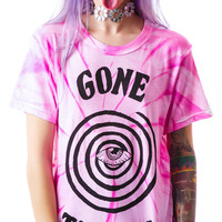 UNIF Gone Trippin Short Sleeves Tee Tie Dye