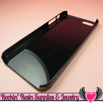 Black Iphone 5 Shell Cellphone Case for Decoden