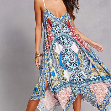 Handkerchief Maxi Dress
