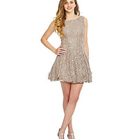 B. Darlin Sleeveless Lace Dress | Dillards.com