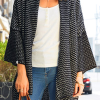 Cupshe Down To You Knitting Sweater Cardigan