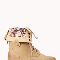 Pretty-Tough Combat Boots