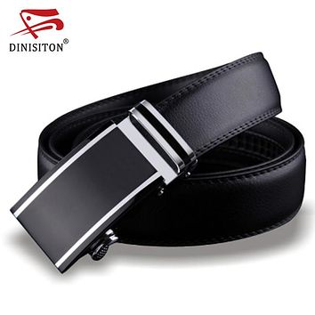 Genuine Leather belts for men Designers high quality Luxury automatic buckle belt Waist strap for Hombre male Fashion