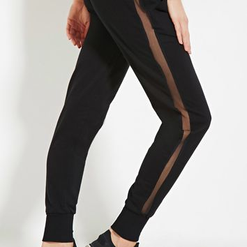 Active Mesh-Paneled Sweatpants