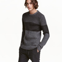Color-block Sweater - from H&M