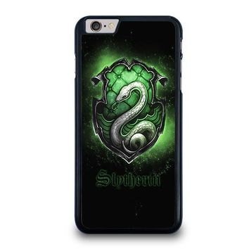 slytherin logo iphone 6 6s plus case cover  number 1