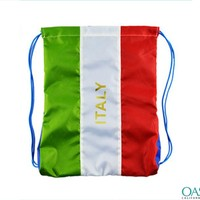 Wholesale Smart Italian Flag Drawstring Bag Manufacturers & Suppliers 2016