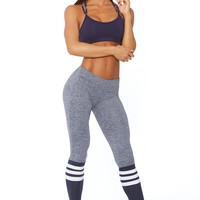 Sock Leggings - Navy