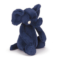 Jellycat Bashful Blue Elephant Medium 12""