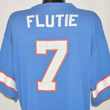 90s Buffalo Bills Doug Flutie #7 t-shirt Extra Large