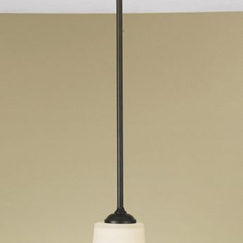 Murray Feiss Barrington 1 Light Bronze Mini Pendant - P1117ORB