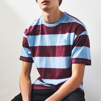 Kand Stripe Pocket Regular T-Shirt | PacSun