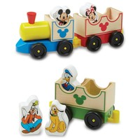 Disney® Mickey Mouse and Friends All Aboard Wooden Train
