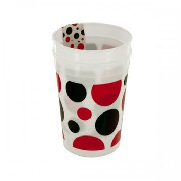 Little Ladybug Polka Dot Plastic Cups Set