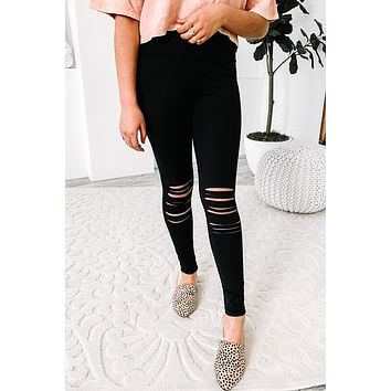 Young, Wild & Free High Waisted Leggings