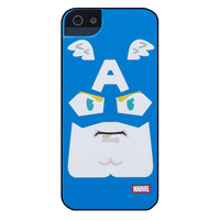 Marvel Comic Face Case for iPhone 5 /5s /SE - Captain America