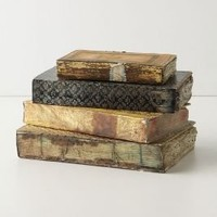 Well-Thumbed Book Box, Assorted - Anthropologie.com