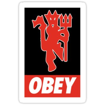 OBEY UNITED Sticker