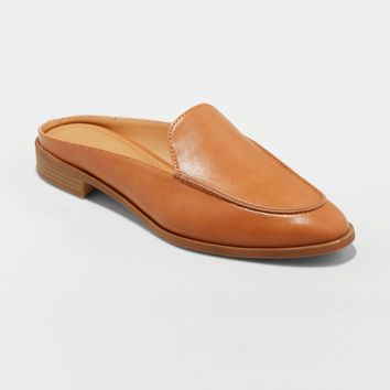 Women's Amber Backless Loafer Mules - Universal Thread™