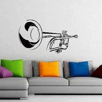 Wall Stickers Vinyl Decal Saxophone Classical Music Jazz Musical Instrumen Unique Gift z1040