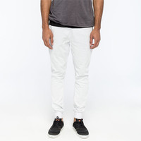 Charles And A Half Color Block Mens Jogger Pants Black/White  In Sizes