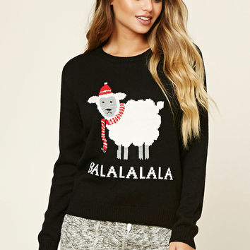 Balalalala Holiday PJ Sweater