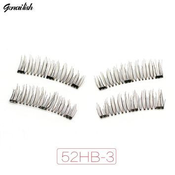Genalish 6D 0.2mm Magnetic Eyelashes Extension Eye Beauty Makeup Accessories Soft Fake Eyelashes False lashes 52HB-3