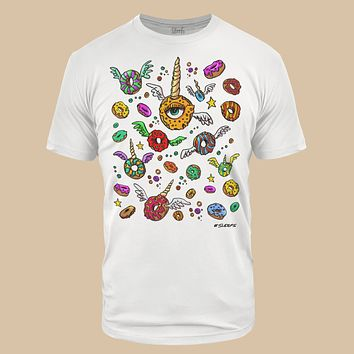 City Donuts White Tri-Blend T-Shirt