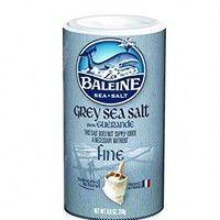 La Baleine Sea Salt Grey Fine Sea Salt Shaker - Case Of 12 - 8.8 Oz.