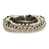 SMITH by Zoe Chicco Sparkle Chains Bracelet  | Rain Collection