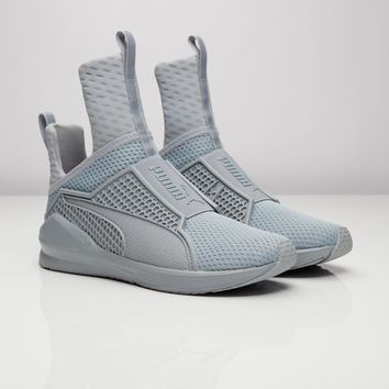 Womens PUMA Fenty x RIHANNA 'Fierce' Trainer Quarry Grey (189193-04), UK 3 to 8