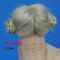 XW09 Heidi Ott Ladies Wig Doll House Miniature Hair hairstyle 1:12