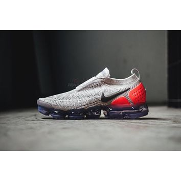 Nike Air VaporMax Moc 2 Running Shoes Sneaker Grey AH7006-201